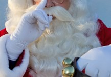 Winter Festival Santa