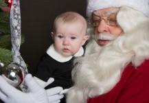 Santa Visits the Museum 2014