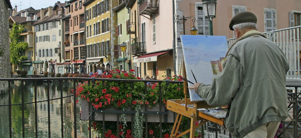 Painting Annecy
